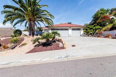 1240 La Granada, San Marcos, CA 92078 - MLS#: 190057241