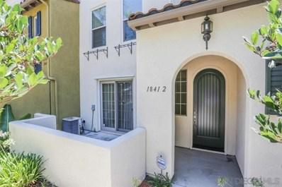 1841 Spring Straw Lane UNIT Unit 2, Chula Vista, CA 91913 - MLS#: 190058272