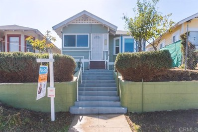 2887 Franklin Ave, San Diego, CA 92113 - MLS#: 190059081