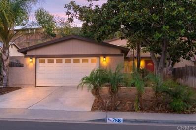 758 Braun Ave, San Diego, CA 92114 - MLS#: 190059253