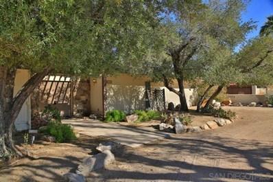 426 De Anza Spur, Borrego Springs, CA 92004 - MLS#: 190059549