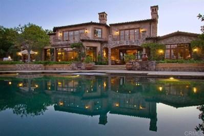 18439 Via Candela, Rancho Santa Fe, CA 92091 - MLS#: 190059684