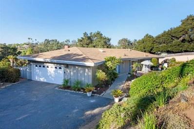 1236 Hillside Dr, Fallbrook, CA 92028 - MLS#: 190060402