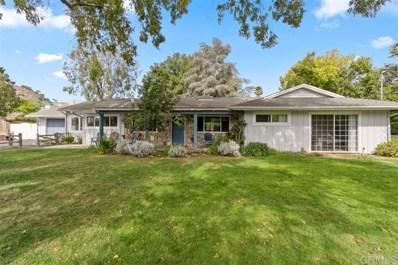 3245 Green Canyon Rd, Fallbrook, CA 92028 - MLS#: 190060460
