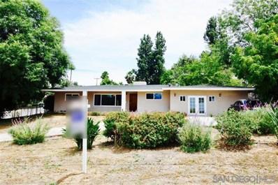 2930 Mary Lane, Escondido, CA 92025 - MLS#: 190060894
