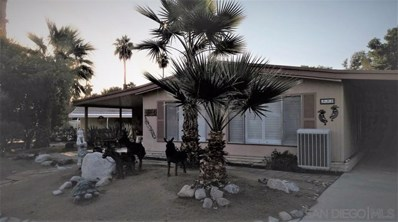 1010 Palm Canyon Dr UNIT 331, Borrego Springs, CA 92004 - MLS#: 190063247