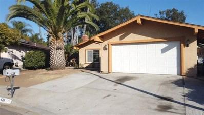 433 Palmac St., San Marcos, CA 92069 - MLS#: 190063328