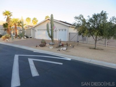 1010 Palm Canyon Dr UNIT 378, Borrego Springs, CA 92004 - MLS#: 190063550