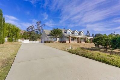 1021 Capra Way, Fallbrook, CA 92028 - MLS#: 190063595