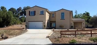 1890 Citrus Glen Drive, Escondido, CA 92027 - MLS#: 190065086