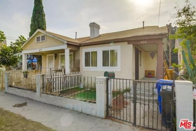 234 E 27TH Street, Los Angeles, CA 90011 - MLS#: 19420068