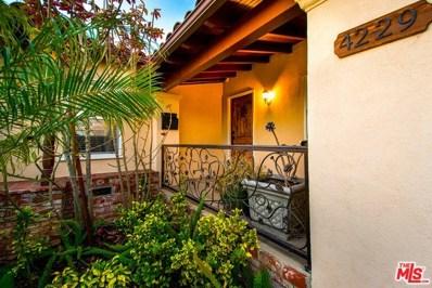 4229 W 63RD Street, Los Angeles, CA 90043 - MLS#: 19425232