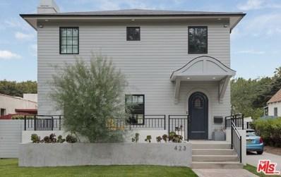 423 S ORANGE Drive, Los Angeles, CA 90036 - MLS#: 19430278
