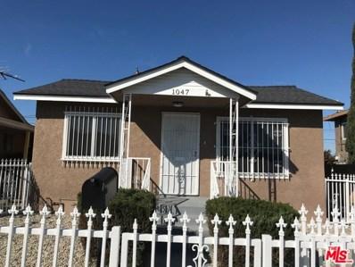 1047 W 98TH Street, Los Angeles, CA 90044 - MLS#: 19434412