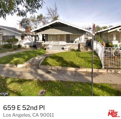 659 E 52ND Place, Los Angeles, CA 90011 - MLS#: 19435394