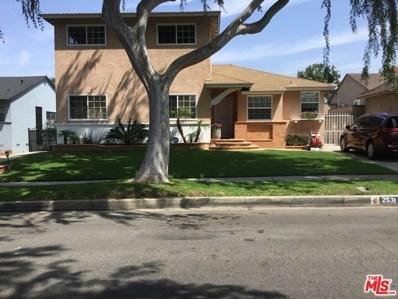 2531 W 112TH Street, Inglewood, CA 90303 - MLS#: 19435674