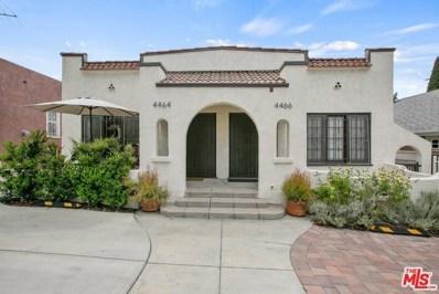 4464 Maplewood Avenue, Los Angeles, CA 90004 - MLS#: 19455990