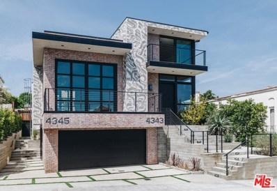 4345 Clarissa Avenue, Los Angeles, CA 90027 - MLS#: 19466788
