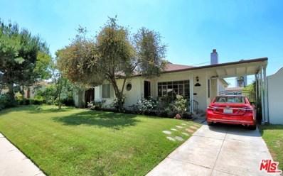 827 S Burnside Avenue, Los Angeles, CA 90036 - MLS#: 19470664