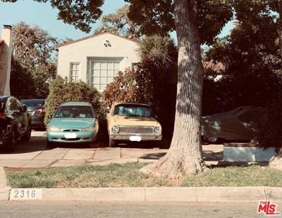 2316 GLENDON Avenue, Los Angeles, CA 90064 - MLS#: 19471776