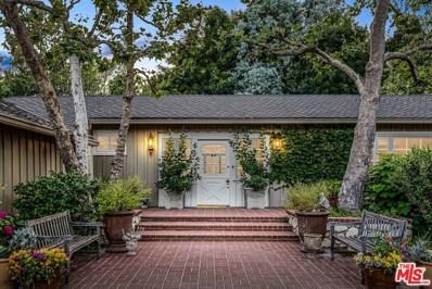 1665 MANDEVILLE CANYON Road, Los Angeles, CA 90049 - MLS#: 19488298