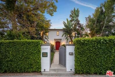 1637 N ORANGE GROVE Avenue, Los Angeles, CA 90046 - MLS#: 19500322