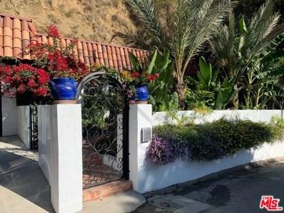 2170 Sunset Plaza Drive, Los Angeles, CA 90069 - MLS#: 19501120