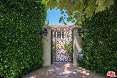 419 N ORLANDO Avenue, Los Angeles, CA 90048 - MLS#: 19501808