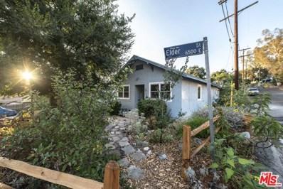 6537 ELDER Street, Los Angeles, CA 90042 - MLS#: 19507842