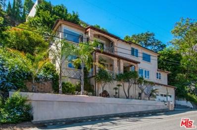 1635 SUNSET PLAZA Drive, Los Angeles, CA 90069 - MLS#: 19516352