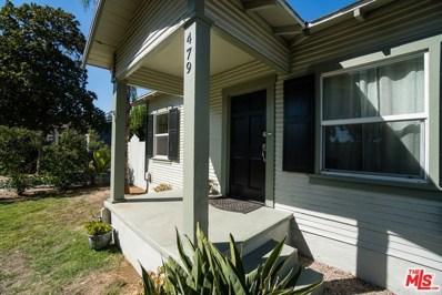 479 Anderson Place, Pasadena, CA 91103 - MLS#: 19520454