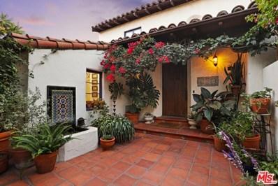 3892 FRANKLIN Avenue, Los Angeles, CA 90027 - MLS#: 19529040