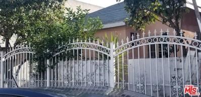 1554 E 24TH Street, Los Angeles, CA 90011 - MLS#: 19535968