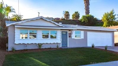 922 Rangeview Street, Spring Valley, CA 91977 - MLS#: 200000407