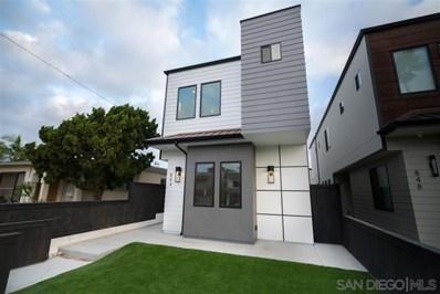 844 Opal Street, San Diego, CA 92109 - MLS#: 200000905