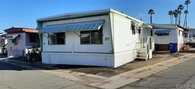 1174 E Main St. UNIT 177, El Cajon, CA 92021 - MLS#: 200002130