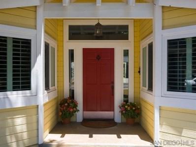 814 Birch Avenue, Escondido, CA 92027 - MLS#: 200002767