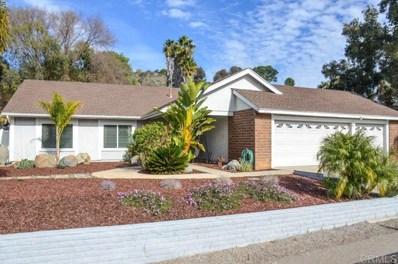 9121 Northcote Rd, Santee, CA 92071 - MLS#: 200002914