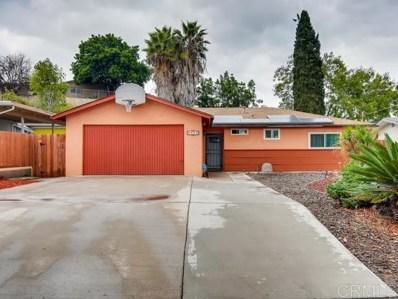 1511 Arthur Neal, Lemon Grove, CA 91945 - MLS#: 200003035