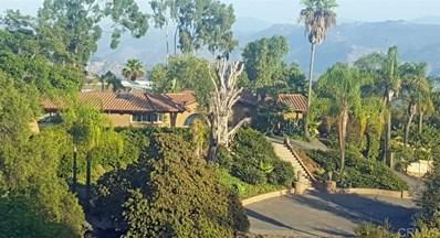 2453 San Pasqual Valley Road, Escondido, CA 92027 - MLS#: 200003229