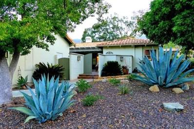 16142 El Tae, Pauma Valley, CA 92061 - MLS#: 200003356