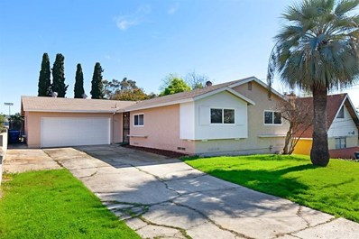1257 HELIX ST, Spring Valley, CA 91977 - MLS#: 200004035