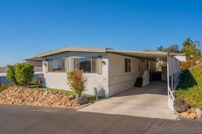 12250 Vista Del Cajon UNIT 43, El Cajon, CA 92021 - MLS#: 200004252