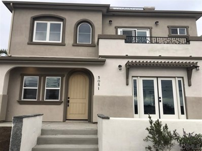 5051 Savannah Street, San Diego, CA 92110 - MLS#: 200004698
