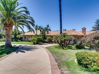 3921 Concordia Ln, Fallbrook, CA 92028 - MLS#: 200006753