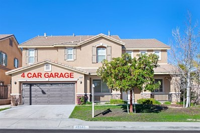 40343 Hannah Way, Murrieta, CA 92563 - MLS#: 200006894
