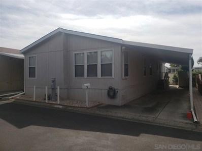 1010 E Bobier UNIT 65, Vista, CA 92084 - MLS#: 200010298
