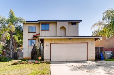 1015 Capistrano Ave, Spring Valley, CA 91977 - MLS#: 200012844