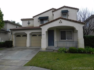 2627 Cactus Trail Lane, Chula Vista, CA 91915 - MLS#: 200013179