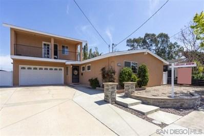 4583 Mount La Platta Place, San Diego, CA 92117 - MLS#: 200015681